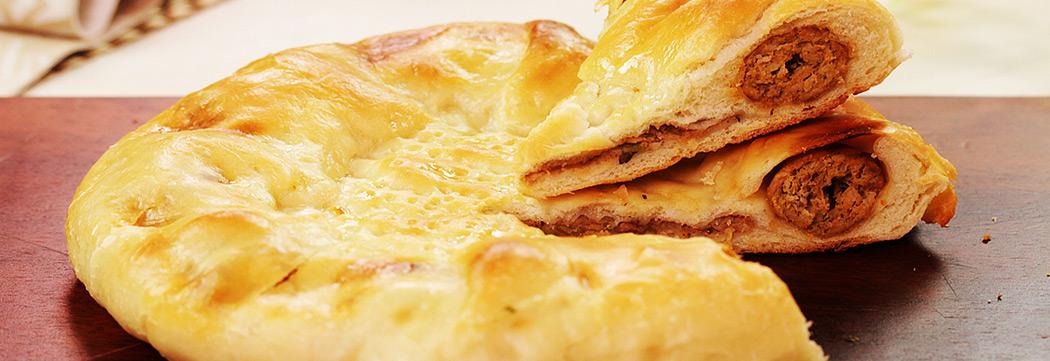 Kafta Kabab Stuffed Flatbread