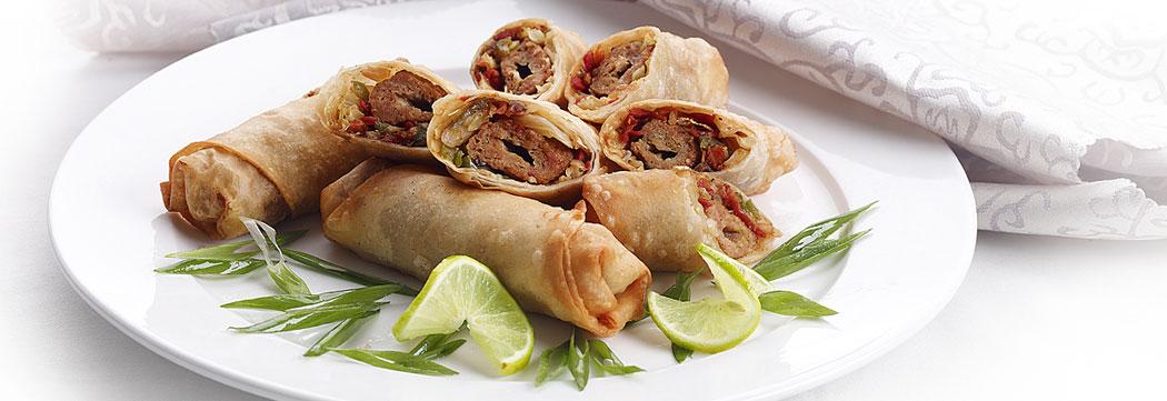 Seekh Kabab Spring Roll