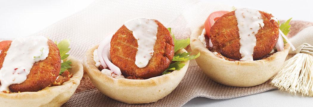 Shami Kabab Arabian Bread