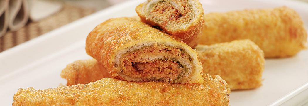 Shami Kabab Bread Roll