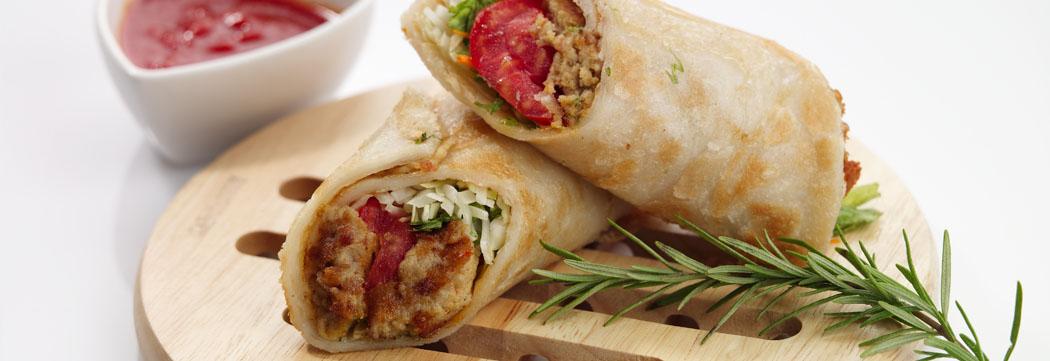 Shami Kabab Paratha Roll