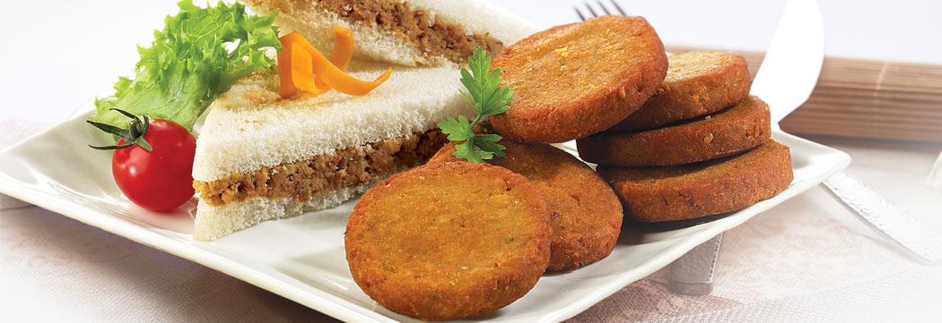 Shami Kabab Sandwich
